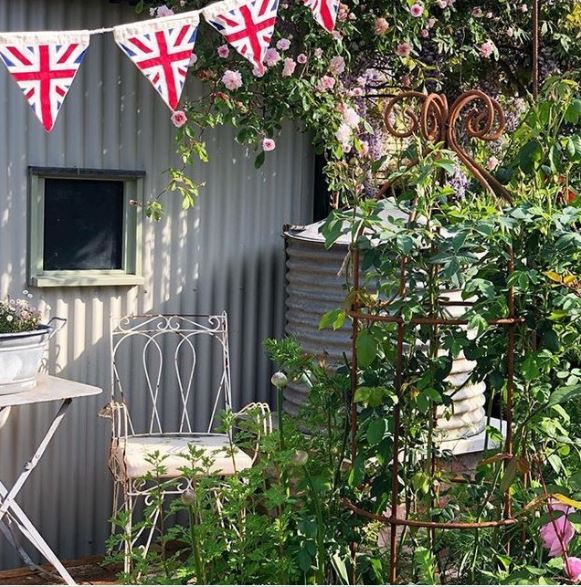 Keep Calm and Carry On: British Themed Garden Ideas 1