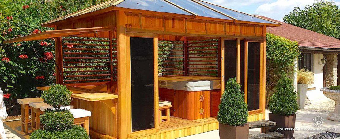 garden bar ideas from crown pavilions
