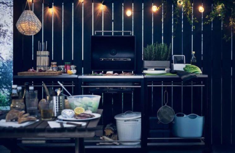 outdoor kitchen area ideas from IKEA