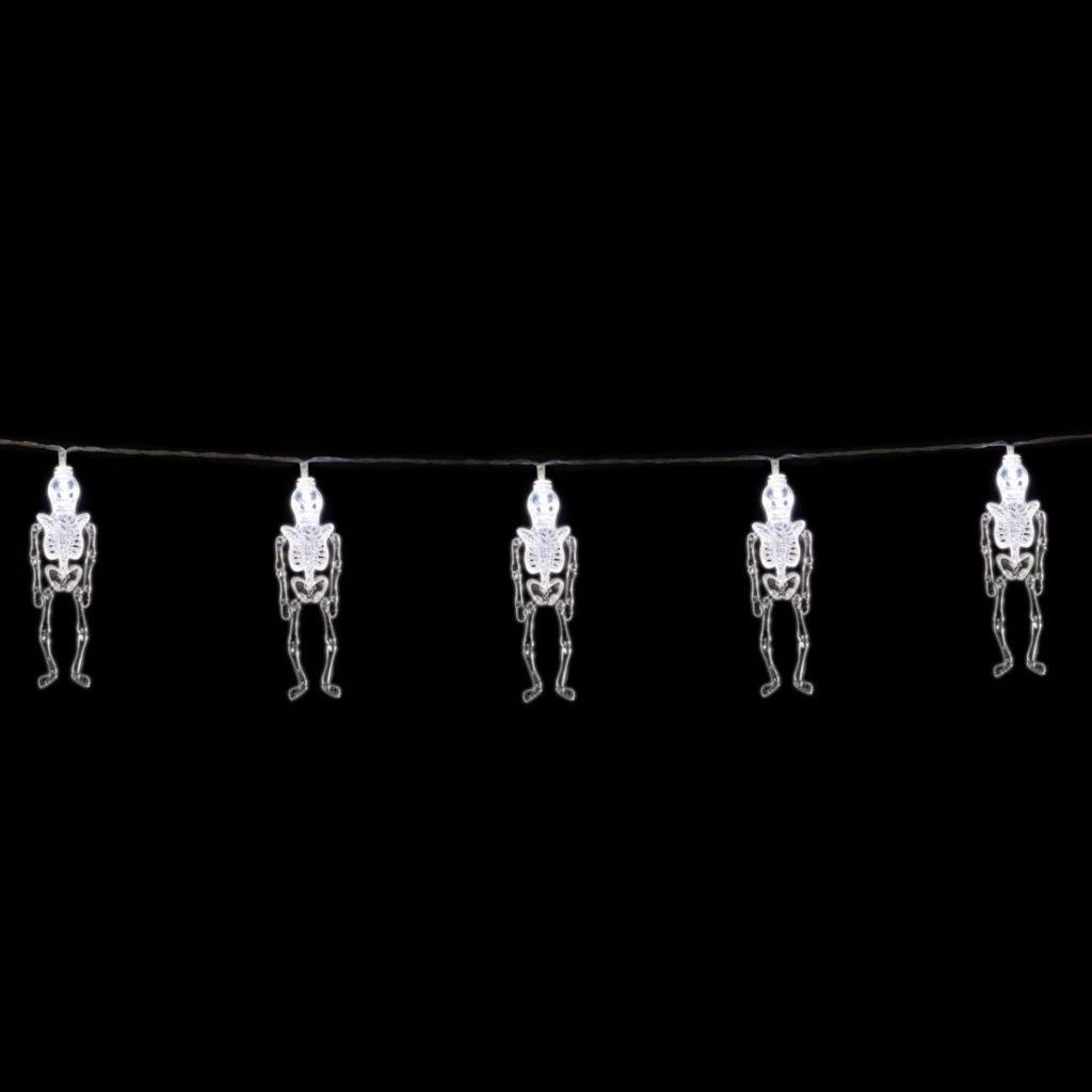 skeleton string lights