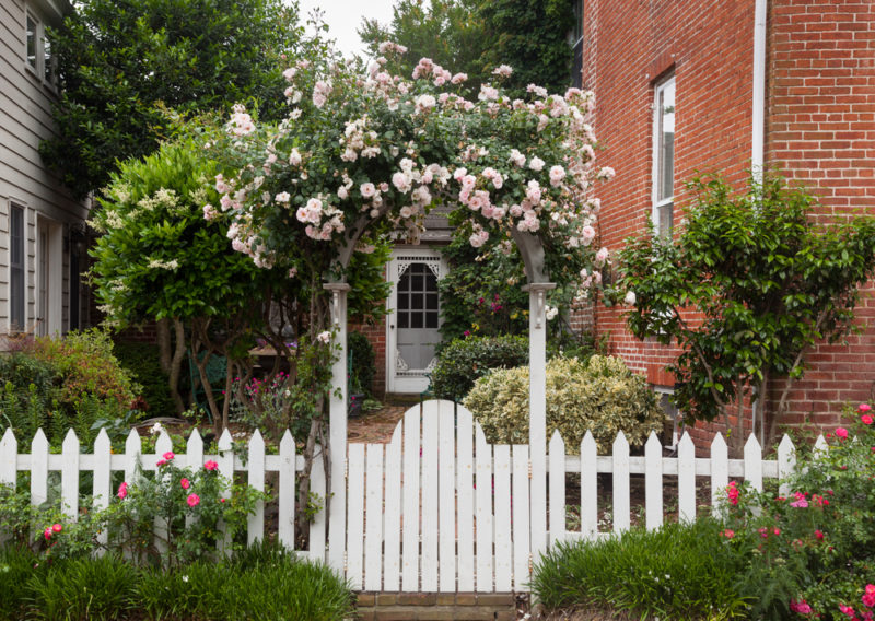 Stylish and Practical Garden Fence Ideas 1