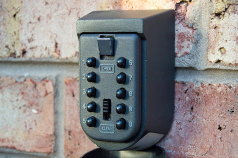 garden security tips: use a key safe keep your home more secure
