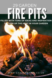 29 garden fire pit ideas and inspiration pinterest pin