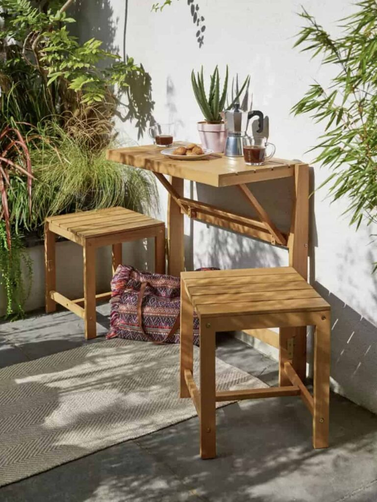 bistro set for small-patio