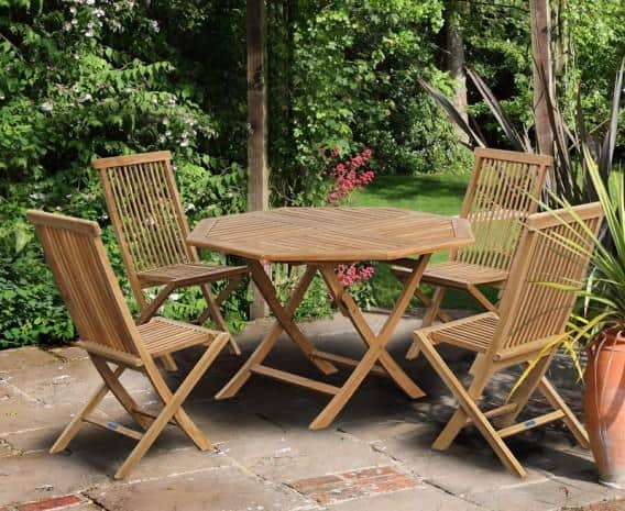 folding furniture for small patio