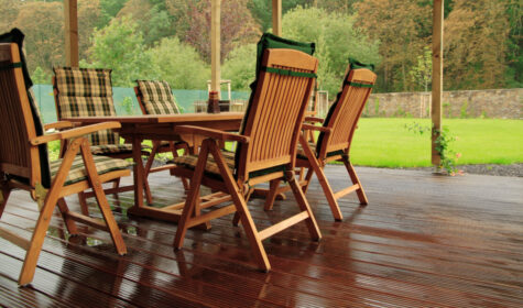 How to Dry Garden Furniture Cushions 1