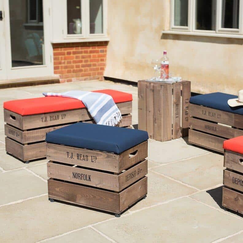 storage furniture for small patio