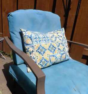 velcro cushion