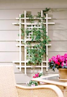 Wall mounted trellis