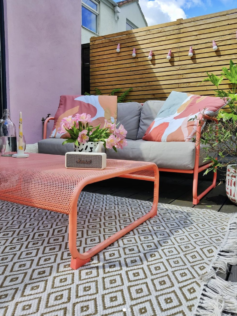 How to Paint Garden Furniture 1