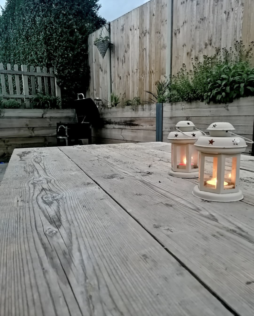 How to Make Rustic Garden Furniture 1