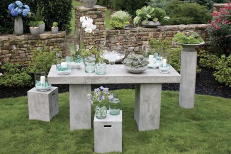 How To Make Concrete Garden Furniture 1