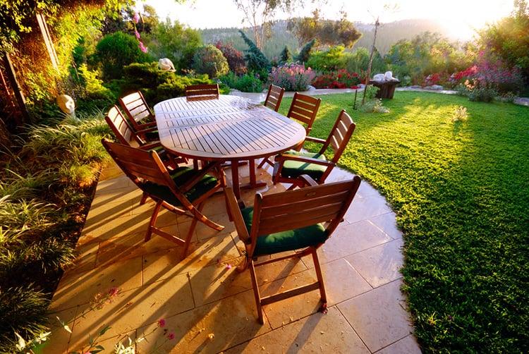 best wood for garden furniture