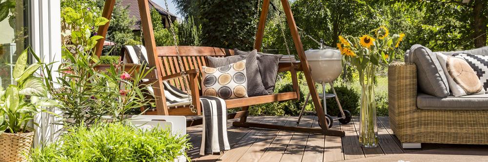 cozy garden furniture cushions