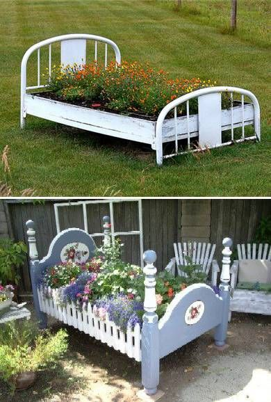 day bed to flower bed