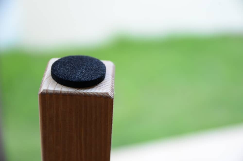 furniture pad grass