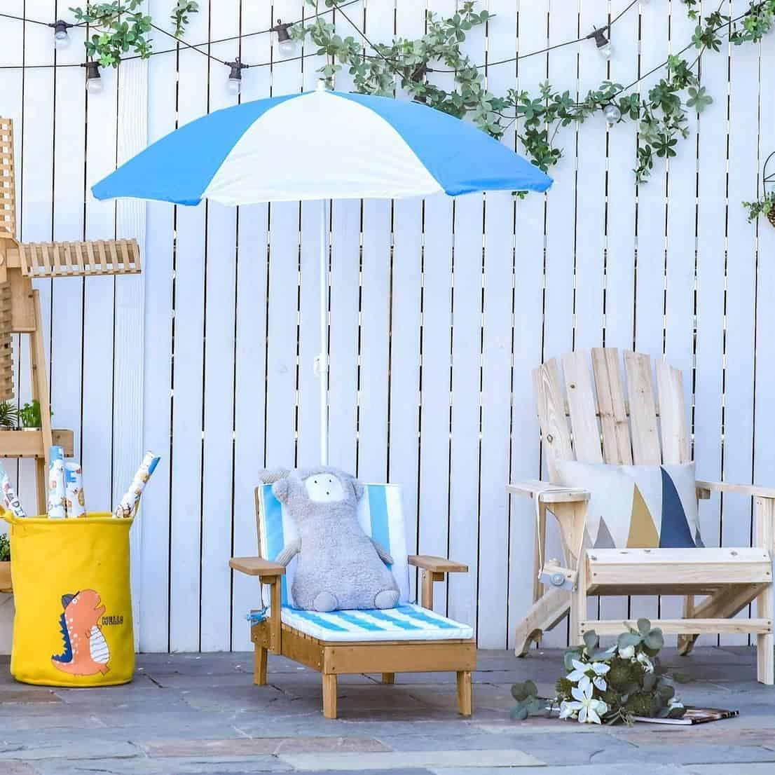 garden lounger for kids