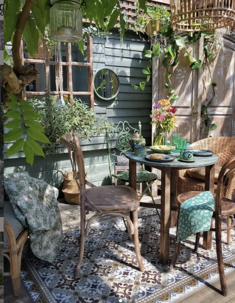 garden party wicker furniture