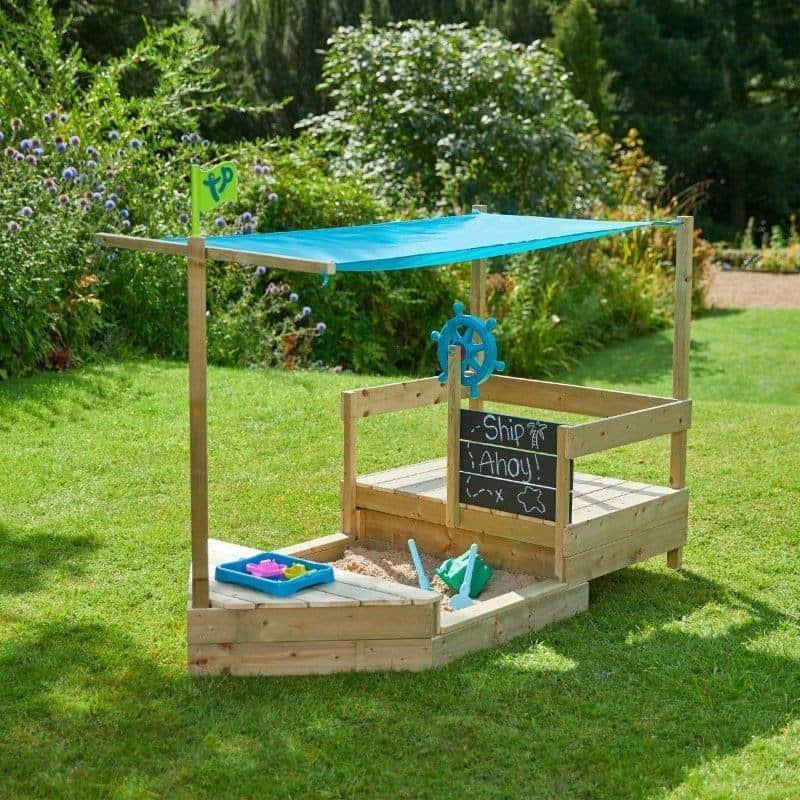 garden sandpit for kids
