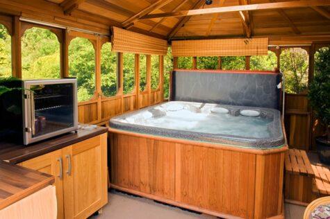 how to build a hot tub gazebo editorial