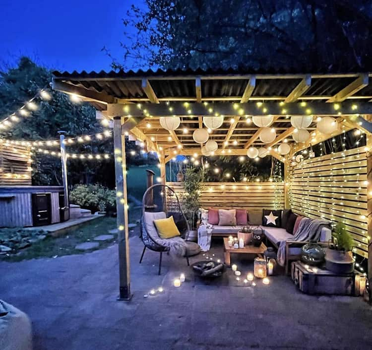 how to decorate a gazebo