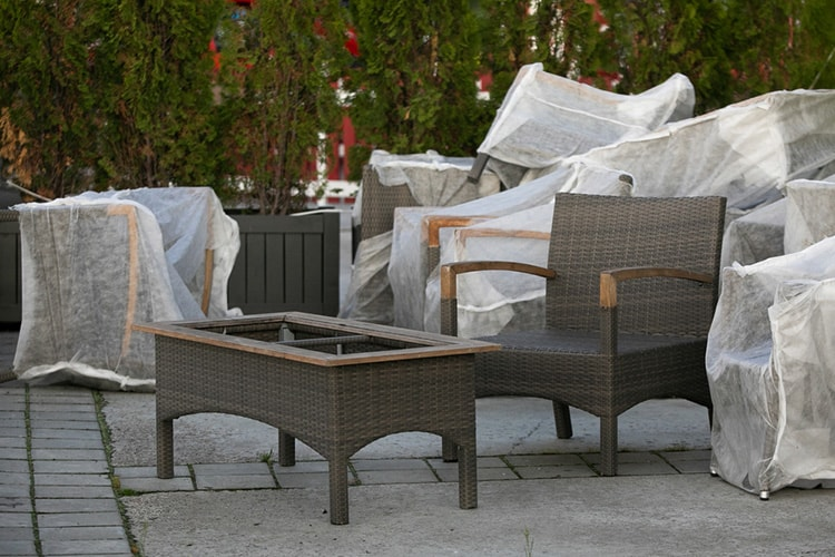 how to make garden furniture covers