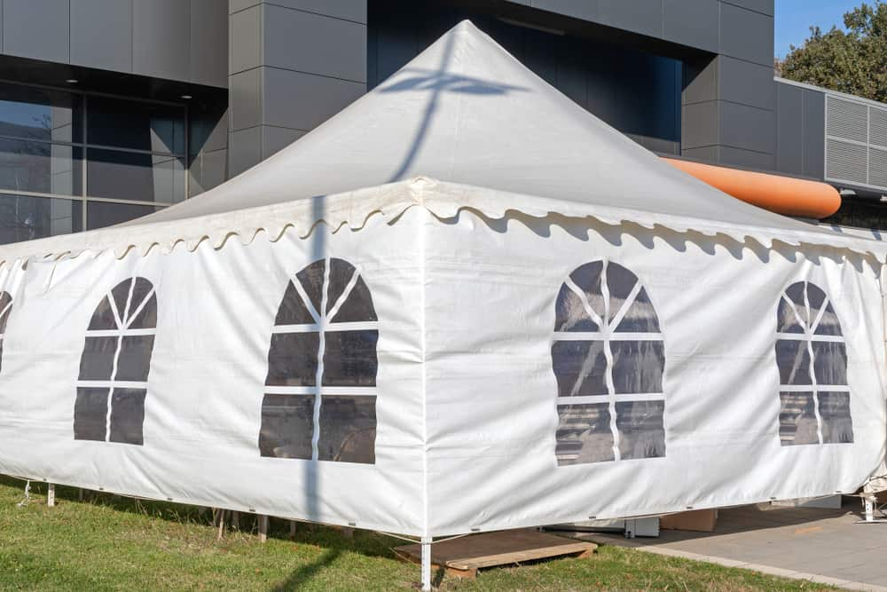 keep the walls to stop a gazebo blowing away