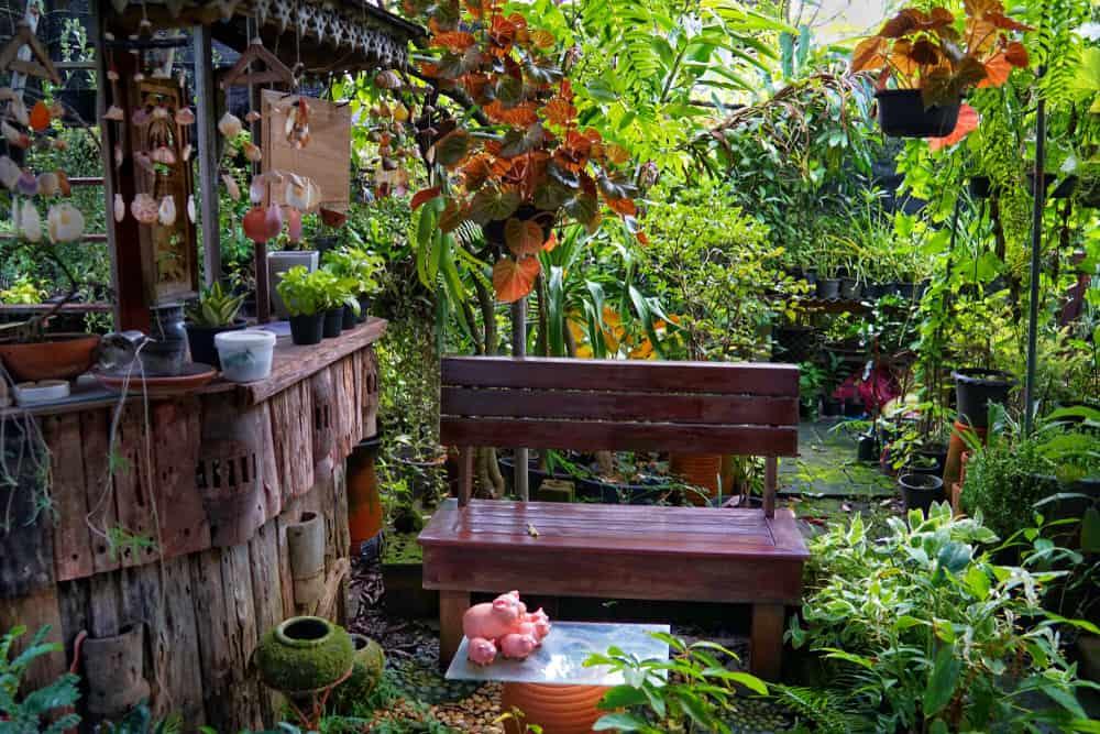 mini bar garden
