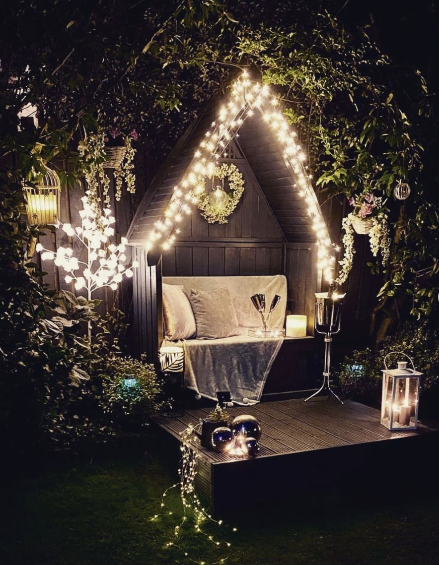 outdoor furniture december party