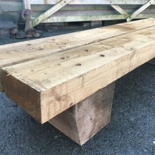 How To Make Garden Furniture From Railway Sleepers 2