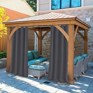 How to Hang Gazebo Curtains 1