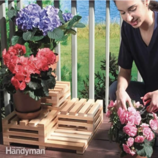How To Build A Tiered Plant Stand 1