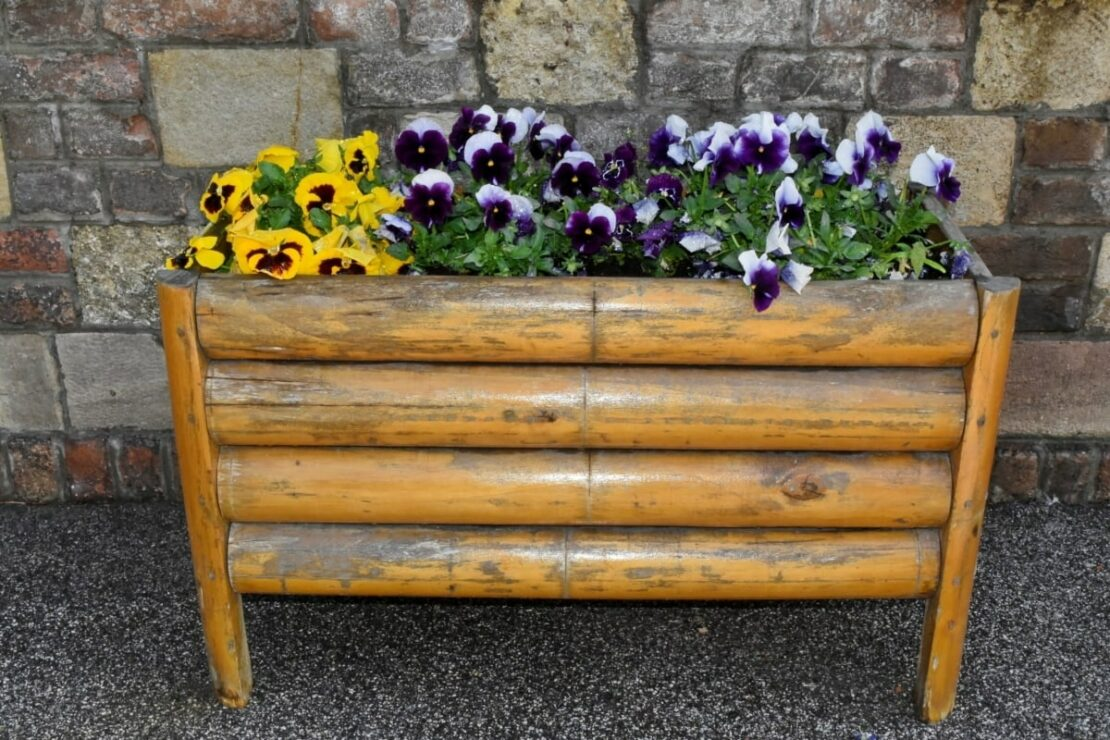 bamboo flower box stands