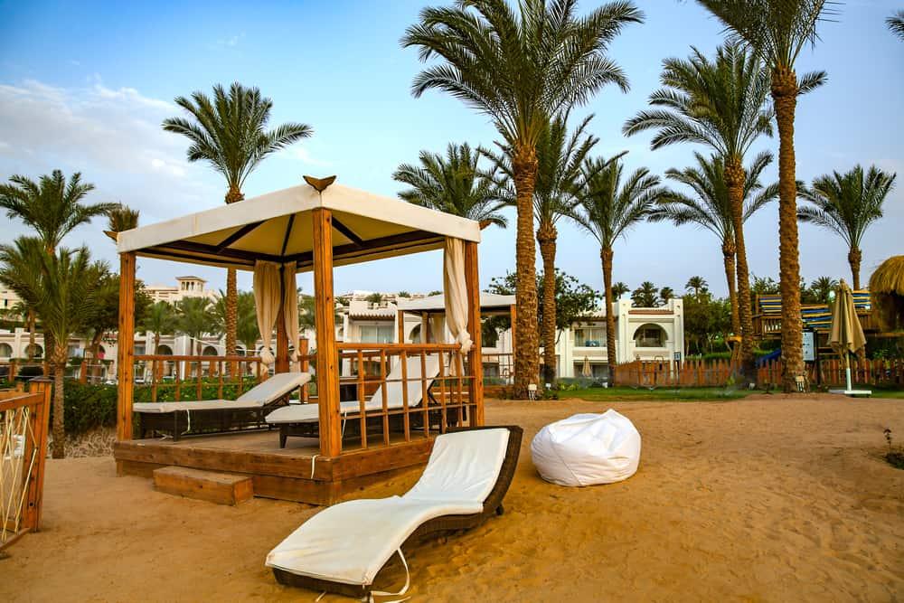 beach gazebo egypt