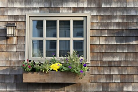 how to make a wooden window flower box