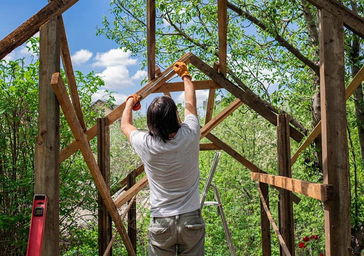 how to repair a gazebo frame