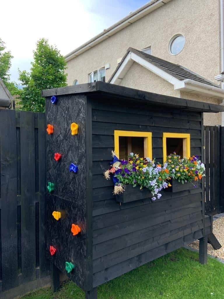 playhouse planter box