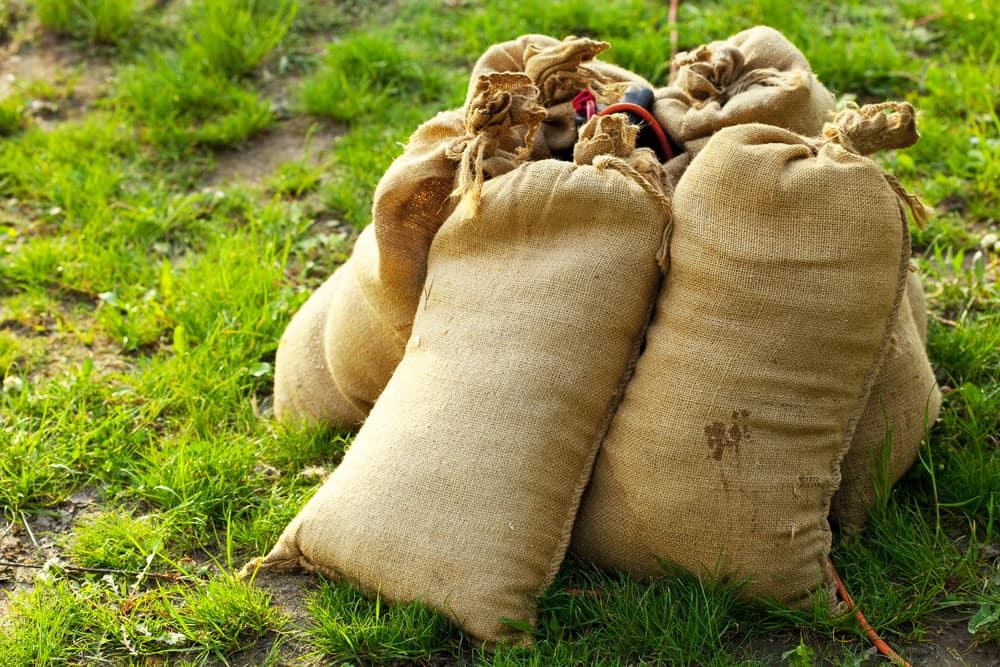 sandbags for gazebo