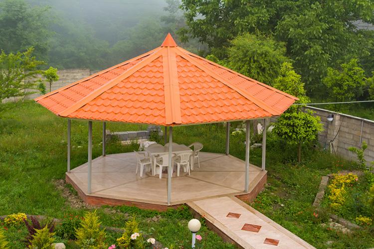 shingle a gazebo roof