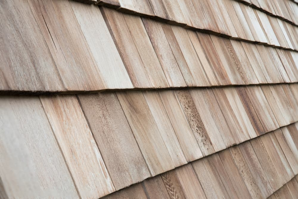 wood cedar shingles
