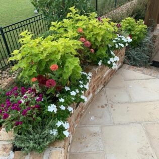 How to Build a Simple Stone Planter Box 1