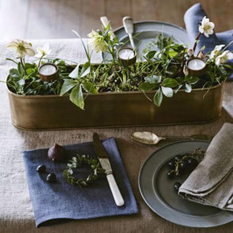 Table planter box